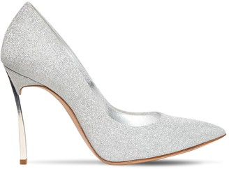 Casadei 100mm Blade Glittered Pumps