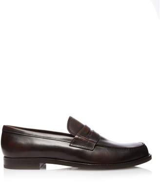 Prada Vitello Leather Loafers