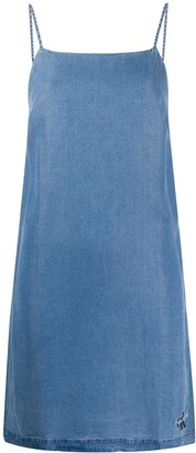 Calvin Klein Jeans Mid Wash Denim Dress