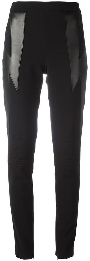 Neil Barrett lightning bolt leggings
