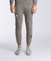 Condemned Nation Embe Applique Distressed Jog Pant