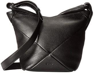 Ecco Linnea Crossbody (Black) Cross Body Handbags