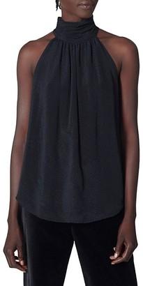 Joie Erola Silk-Blend Halter Top