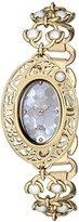 Titan Women's 9973YM01 Raga Analog Display Quartz Gold Watch