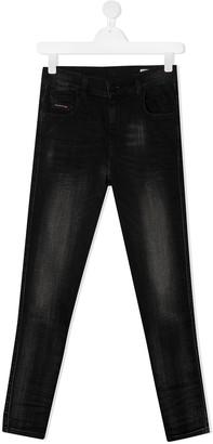 Diesel TEEN stonewashed denim jeans