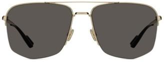 Christian Dior Dior180 60MM Hexagon Aviator Sunglasses