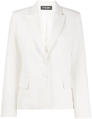 Styland Tailored Single-Breasted Blazer