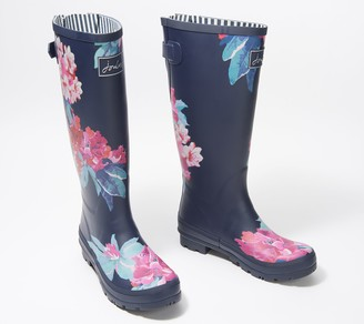 Joules Printed Tall Rain Boots - Welly