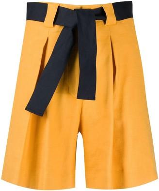 Eleventy Belted Bermuda Shorts
