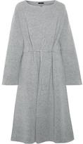 The Row Mani Merino Wool-blend Felt Coat - Gray