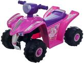 Lil' Rider Pink Princess Mini Quad Ride-On Car Four Wheeler