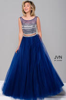 Jovani Gorgeous Two-Piece Beaded Ball Gown Dress JVN30023
