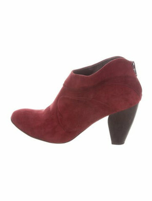 Coclico Suede Boots Red