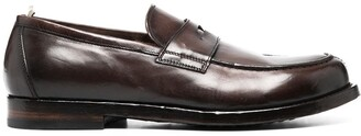 Officine Creative Leather Penny Loafers