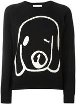 Peter Jensen dog intarsia jumper