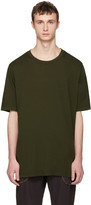 Faith Connexion Green Oversized Distressed T-shirt