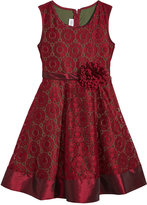 Bonnie Jean Lace Fit and Flare Dress, Little Girls (4-6X)