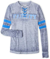 Butter Shoes Girls 7-16) Varsity Long Sleeve Tee