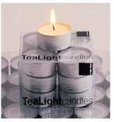 Design Ideas Tea Lights, White, Box of 12