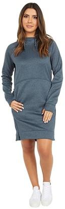 Burton Oak Hoodie Dress (Gray Heather) Women's Clothing
