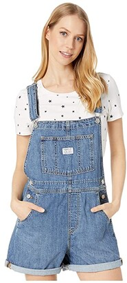 Levi's(r) Womens Vintage Shortall (Eat My) Women's Jumpsuit & Rompers One Piece