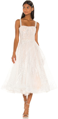 Bronx and Banco Mademoiselle Bridal Midi Dress