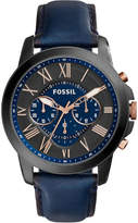 Fossil Grant Blue Watch