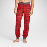 Wondershop Men's Holiday Plaid Pajama Pants - Wondershop Red