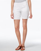 Jag Jordan Pull-On Denim Shorts