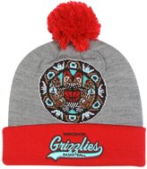 "Mitchell & Ness Vancouver Grizzlies NBA ""Tailsweep"" Retro Cuffed Pom Knit Hat"