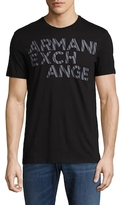 Armani Exchange Cotton Graphic T-Shirt
