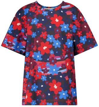 Marni Floral cotton top