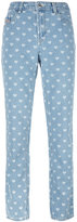 Diesel 'De-Lou-F' heart print jeans - women - Cotton - 27