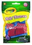 Gum Flossers 75 Count Crayola Kids (6 Pack)