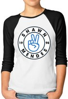 Shawn Mendes SHOPPING BAR1 Athletic Baseball Jersey Women Summer T-shirt With Shawn Mendes