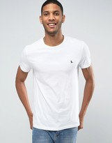 Jack Wills T-Shirt In Classic Regular Fit in Vintage White