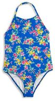 Ralph Lauren One-Piece Floral Swimsuit