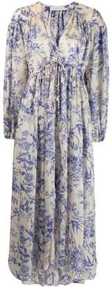 Zimmermann Verity gathered yoke dress