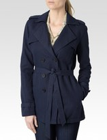 Paige Betty Coat - Dark Ink Blue
