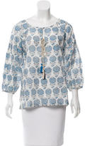 Figue Long Sleeve Floral Print Tunic w/ Tags