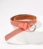 LOFT Braided Leather Belt