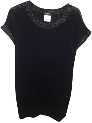 Chanel Blue Cotton Dresses