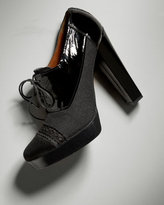Oxford Ankle Bootie