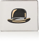 Delvaux Men's Bowler Hat Billfold