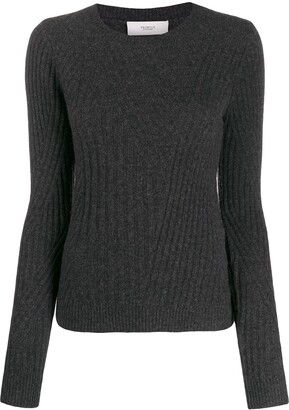 Pringle fitted Travelling Rib jumper