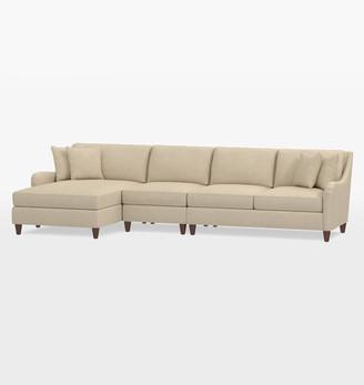 Rejuvenation Vailer 3-Piece Chaise Sectional Sofa - Left Chaise