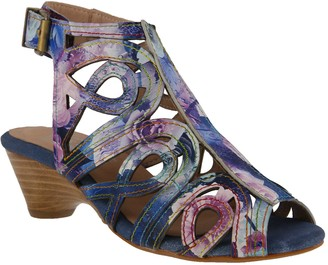 Spring Step L'Artiste by Leather Sandals - Flourisha