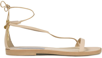 Stella McCartney Lace-up Faux Leather Sandals