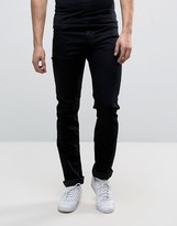 Versace Skinny Jeans In Black