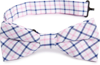 Nordstrom Dakota Grid Cotton Bow Tie